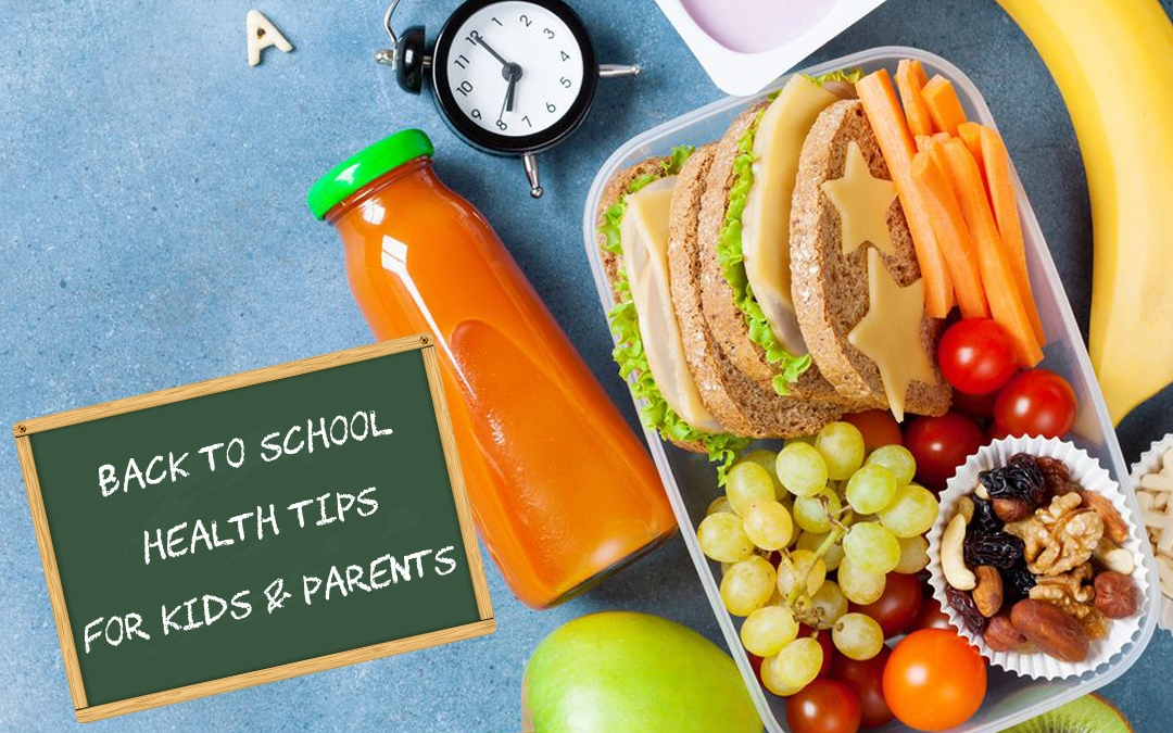 Back-To-School Health Tips For Kids & Parents